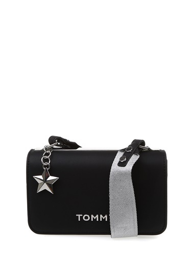 Tommy Hilfiger Messenger / Askılı Çanta Siyah